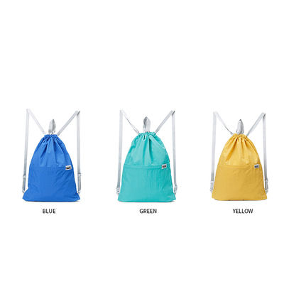 RU81108 Sackpack Drawstring Gym Bag with Pockets for Outdoor