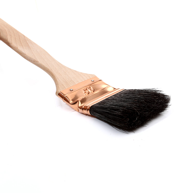 Natural Bristle Bent Paint Brush