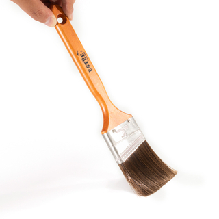 purdy style paint brush with painted wooden handle