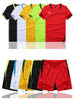 RU81110 Dry Quick Short Sleeve Gym T Shirt Men′s Sport Running T-shirt