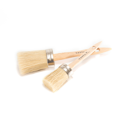 chalk furniture paint brushes kit 4 boar bristles paint brushes