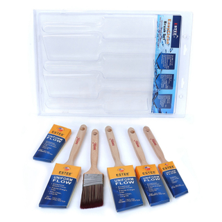 High Performance Nylon 5pcs Paint Brush Set