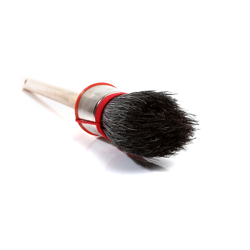 Round Paint Brush with Red Rope
