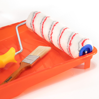 Paint Tray with Paint Roller And Paint Brush Kit
