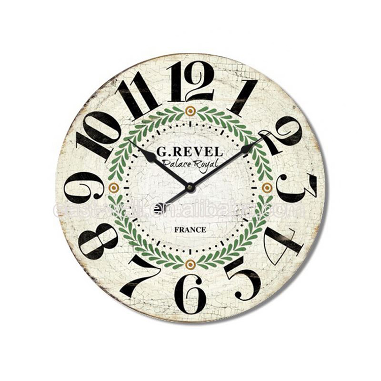Cheap Prices Custom Design Mdf Old Style Wall Clocks