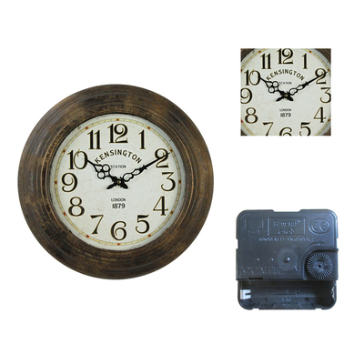 New Design Unique Fashionable Oem Vintage Watch Wall Clock Large