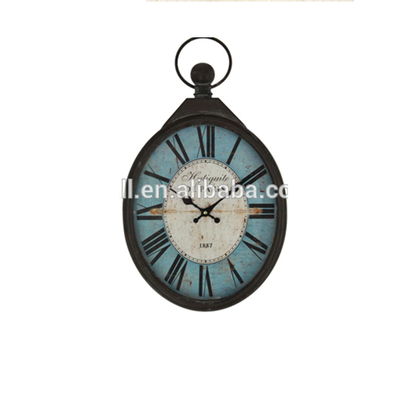 Analog Clock With Digital Display High Quality Antique Style