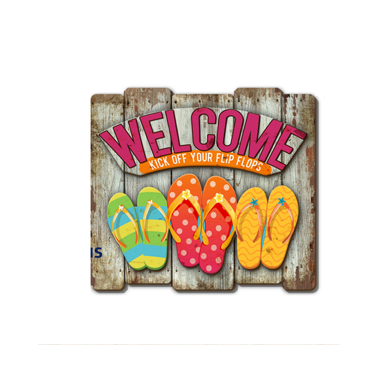 Modern Design Style Home Decoration Wood Sign Plaques