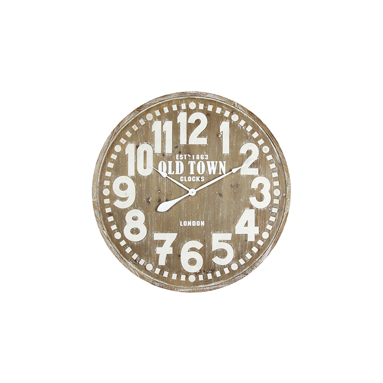 High Quality Custom Printing Vintage Decorated Living Room Wall Clock