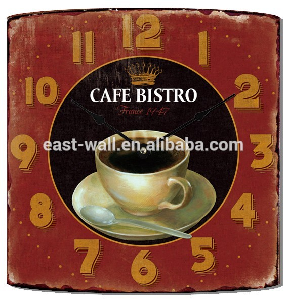 Art Websites Online Shop 2016 Home Decoration Rectangle Shape Wall Clock
