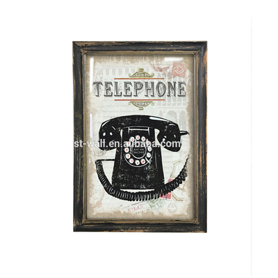 Quality Guarantee Telephone Design Wooden Plaques Wholesale