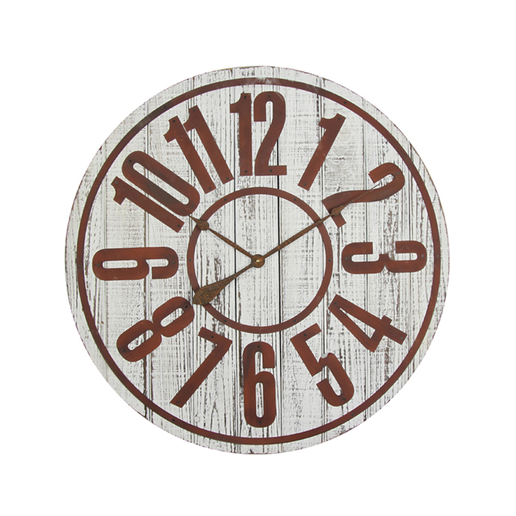 Modern Colorful Popular Wholesale Fashion design Iron Wall Clock