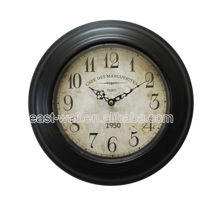 Wholesale Custom Printing Logo 3D Linden Wall Clock