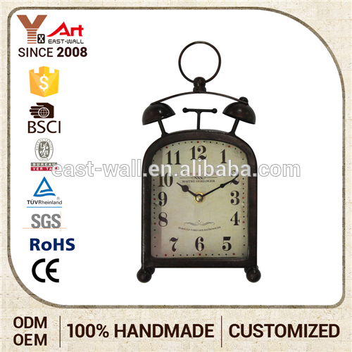 Embroidery Design Contemporary Clocks Unique Wall Clocks Table Clock Glass Material