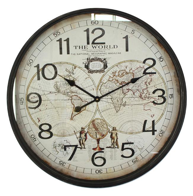 Promotional Wall Art Decoration High Quality Metal Wall Clock In Wholesale