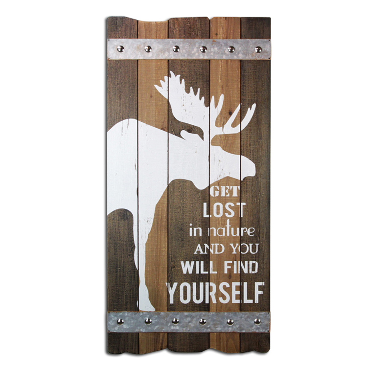Custom Printed Wood Sign Home Decor Christmas Plaque