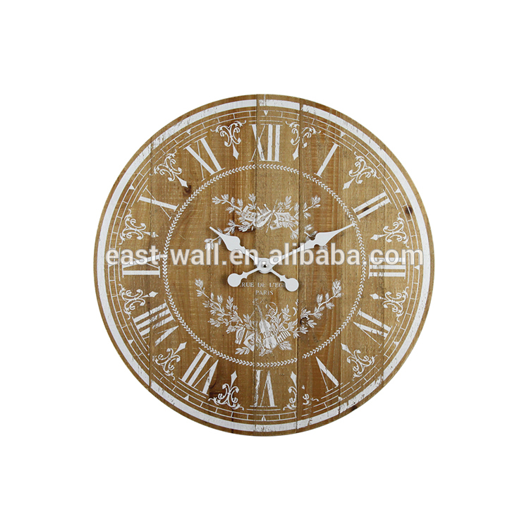 New Material Digital Classic Creative Antique Design Round Decorative Wall Clock
