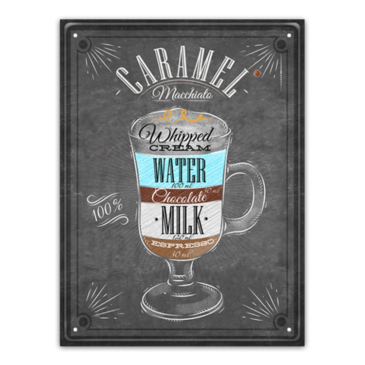 Fashion New Style Coffee Shop Plaque Cafe Decoration