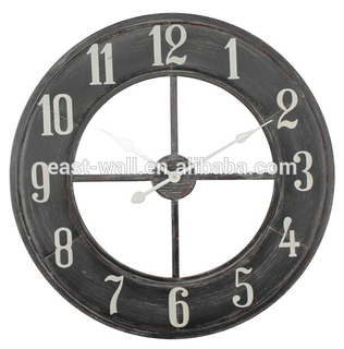 stunning metal arabic numerals nautical clocks wall