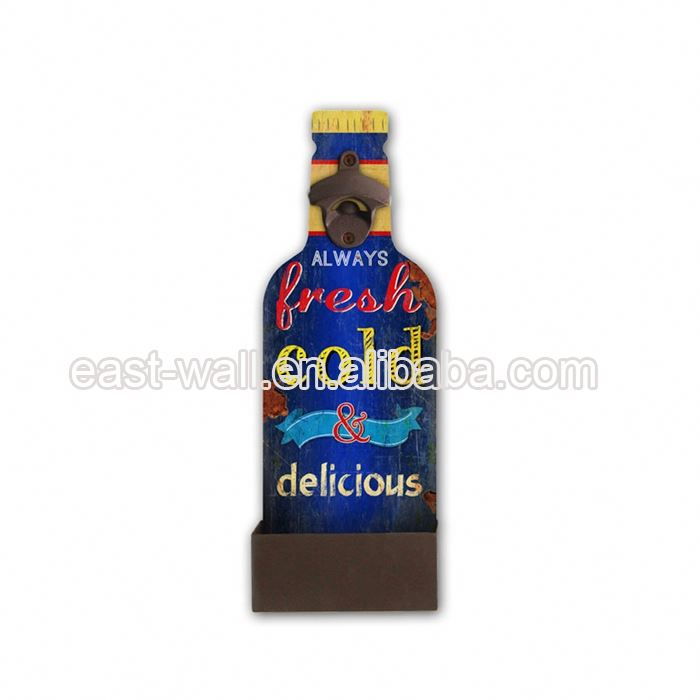 Promotional High Standard Custom-Made Wall Beer Bottle Opener