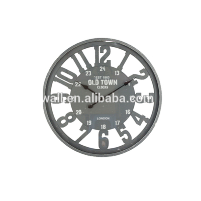 China Factory Glass Fancy Clock Home Decoration Customized Design