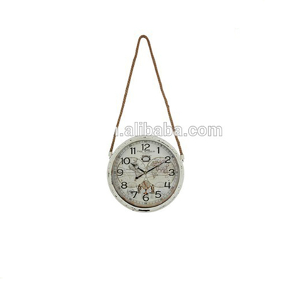 Wholesale Low Cost New Style Retro Handmade Wall Clock