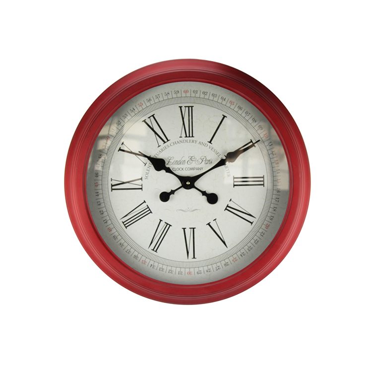 Hot Products Modern Roman Numeral Round Wall Clock