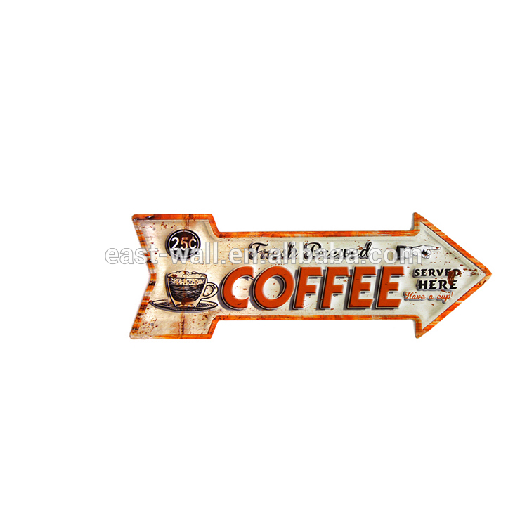 New Coffee Logo Design Shop Sign Board