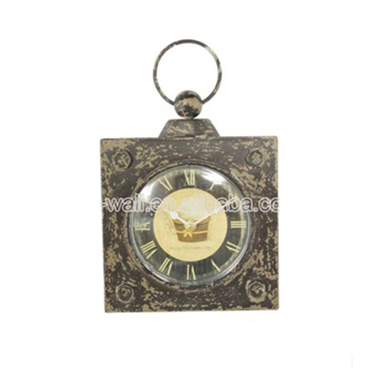 Personalized Design Custom Printing Anticlockwise Wall Clock Plastic Frame