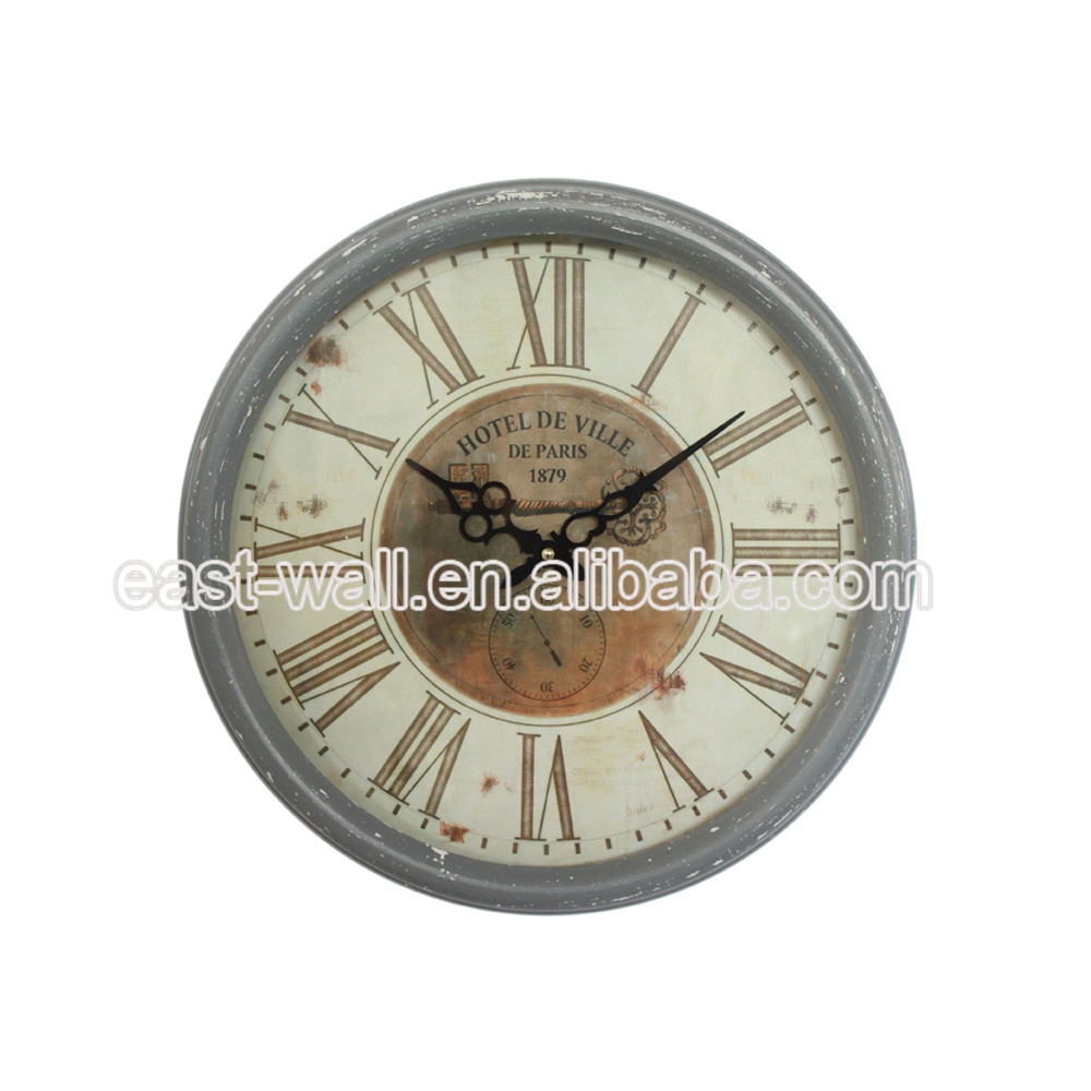 Quality Assured New Coming Elegent Wall Clock For Executive Bedroom Furniture