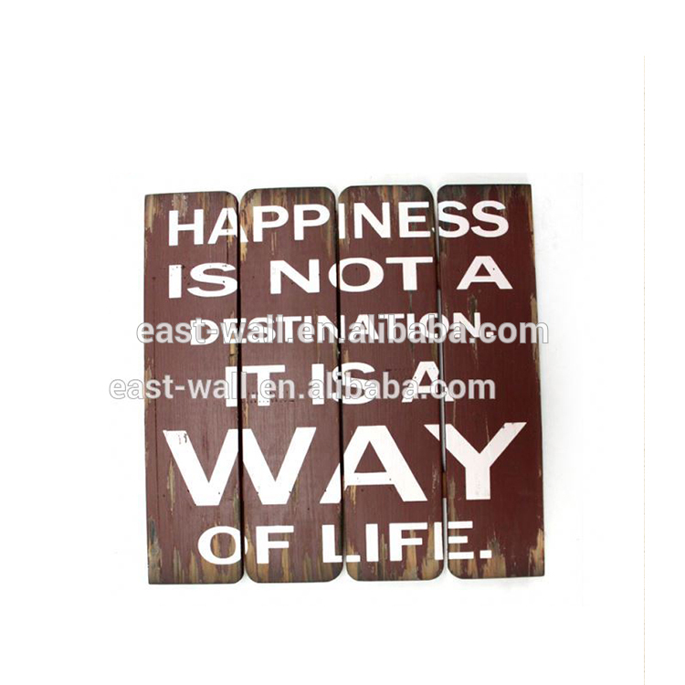 Hot Sell Affordable Price Sign Inspirational Wall Plaques