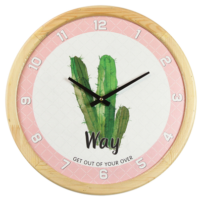 OEM Multi-clock Color Pattern Premium Background Design Arabic Wall Clock