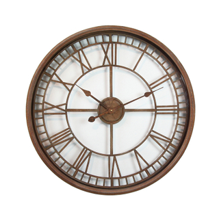 Wholesale Large Custom European Art Roman Metal Luxury Decorative Wall Clock