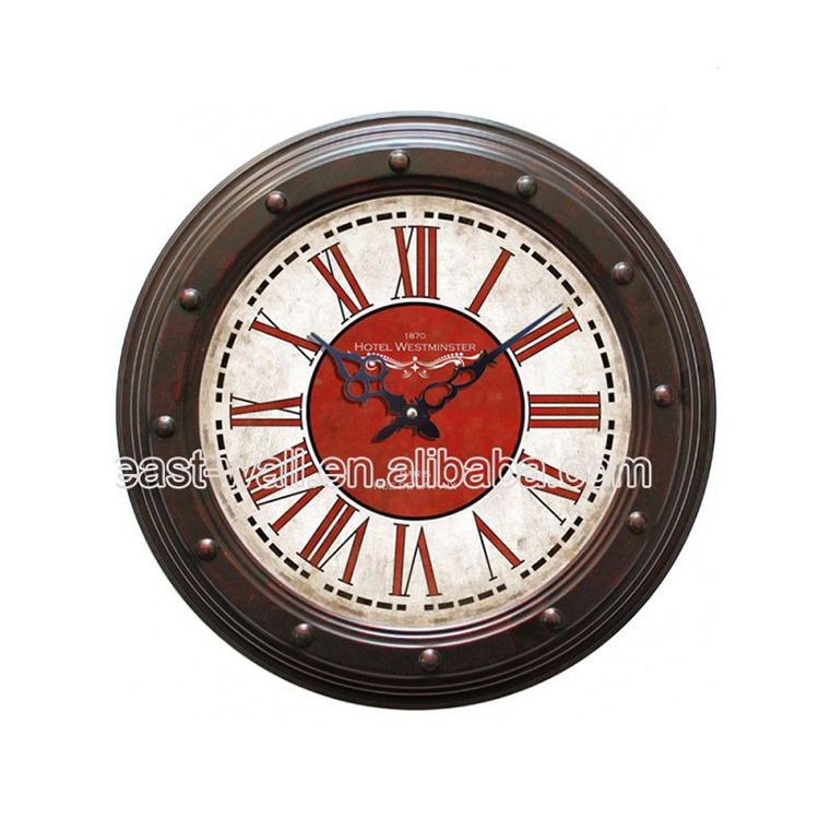 Custom Logo Antique Style Shot Start Stop Clock