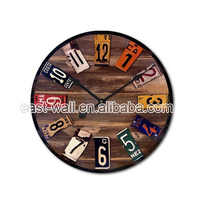 Brand New Design Handmade MDF Wall Clock Big Size China Manufacturer Wholesale