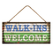 Customized Type Metal Iron Wall Plaque, New Fashion Style Wall Decor Plaque