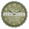 Decorative Wall Clocks Tuscan Style Art Craft Bottle Cap Clock For Living Room