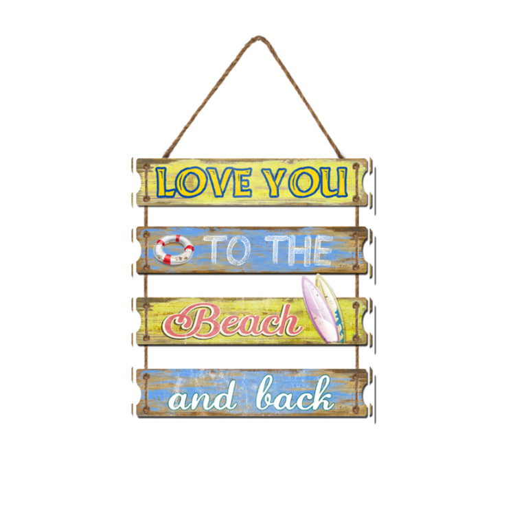 Fashion Home Door Wall Bedroom Livingroom Bookshop Decoration 1PC English Wood Plaque Wall Hanging Sign