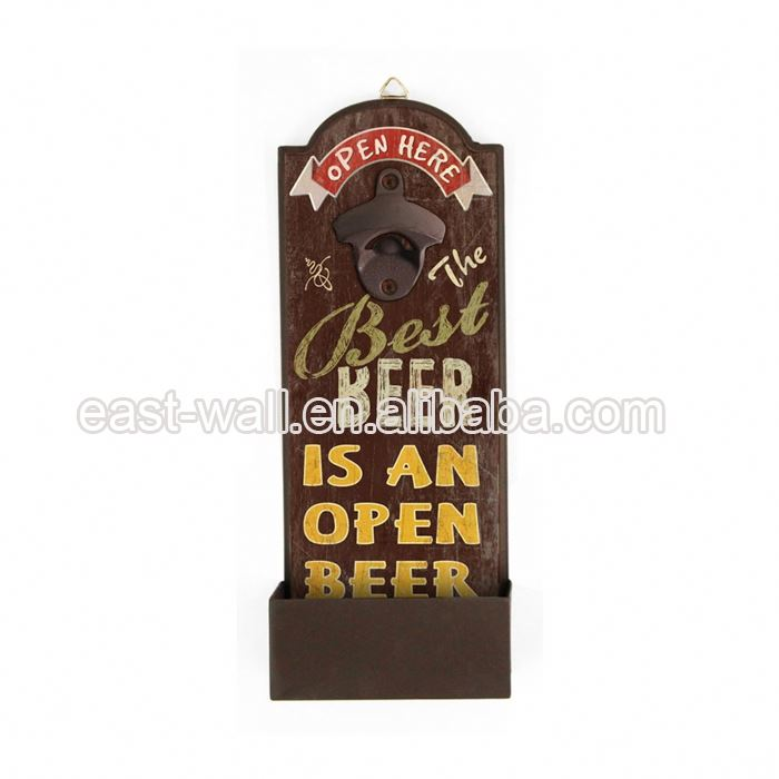 Brand New Design Custom Print Craft Art Electric Bottle Opener