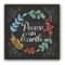 Wholesale Printed Christmas Home Decoration Metal Plaque Sign