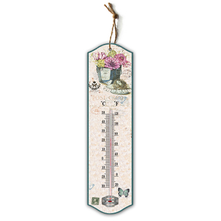 Custom design durable household room glass thermometer