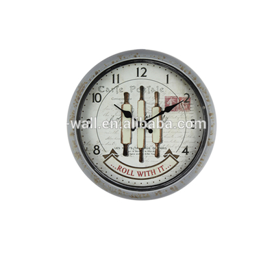 Oem Production Russian Art Work Craft Paper Printing Classic Design Wall Clock