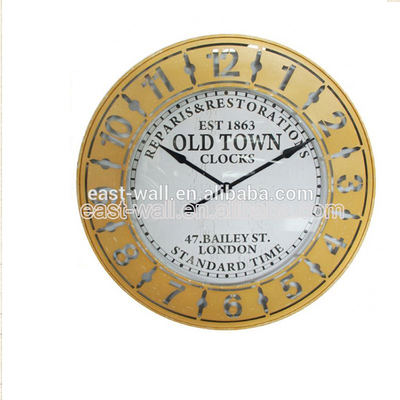 Good Quality Antique Style Household Appliance Luxury Wall Clock Colorful Design