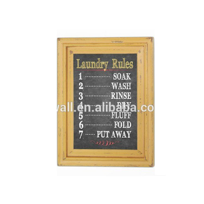 Home Decoration Art Canvas Colorful Framed Wall Hanging Plaque Letter Sign