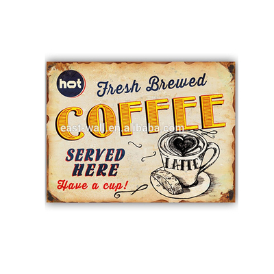 Wholesale Import Cheap Goods from China Coffee Decorating Stencil Wall Plaque