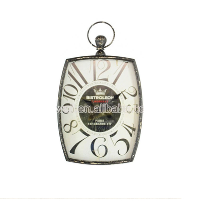 Quality Guaranteed Design Shabby Chic Old Fashioned Antique Wall Clocks Rustic