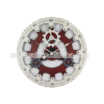 Customized OEM Old Fashioned MDF Digital Souvenir Large Wall Clock