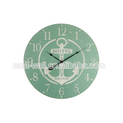Wholesale Art Craft Wall Clock Space Saving Furniture Custom-Made Hand Painted