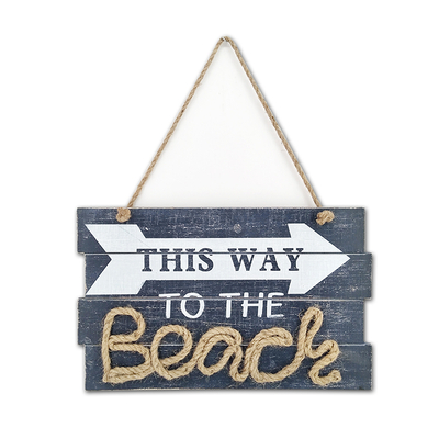 Wholesale Printing Wooden Wall Hanging Art Plaque Decorative Sign