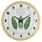 Wood Crafts Digital Creative European Style Vintage Wall Clock Decor